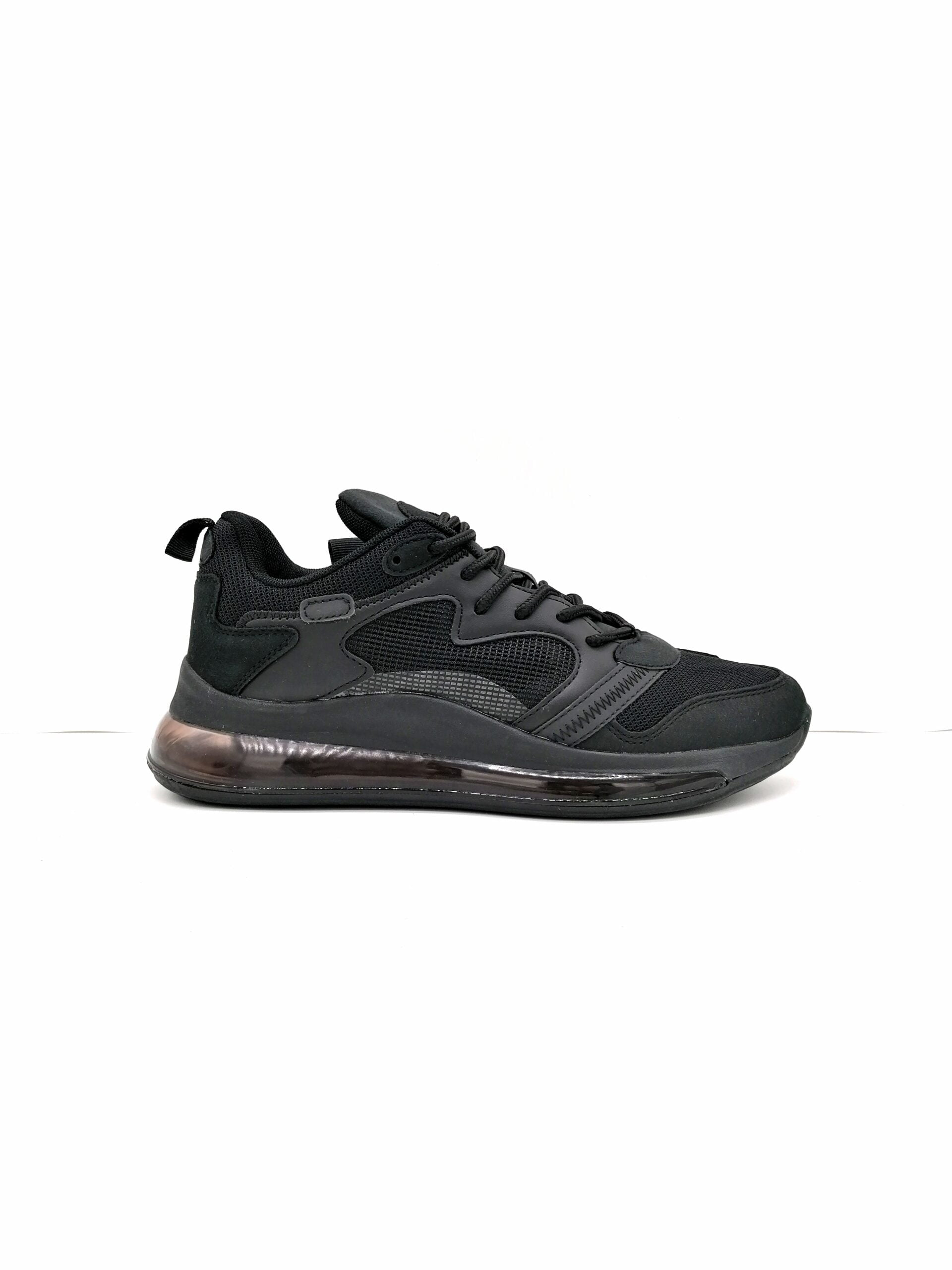 Sports shoe with airship ALL BLACK