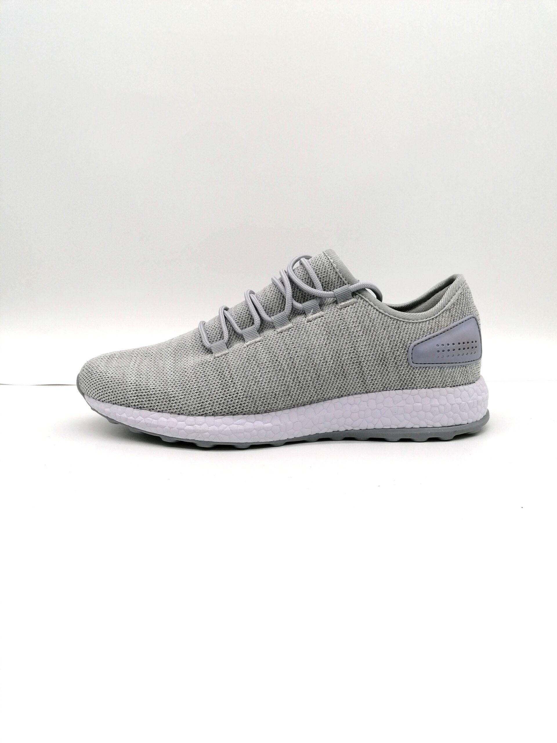 Men Sneakers Socks Grey