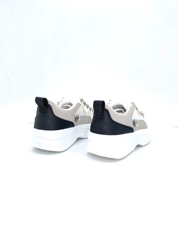 Sneakers Τρίχρωμα με Τρουκς