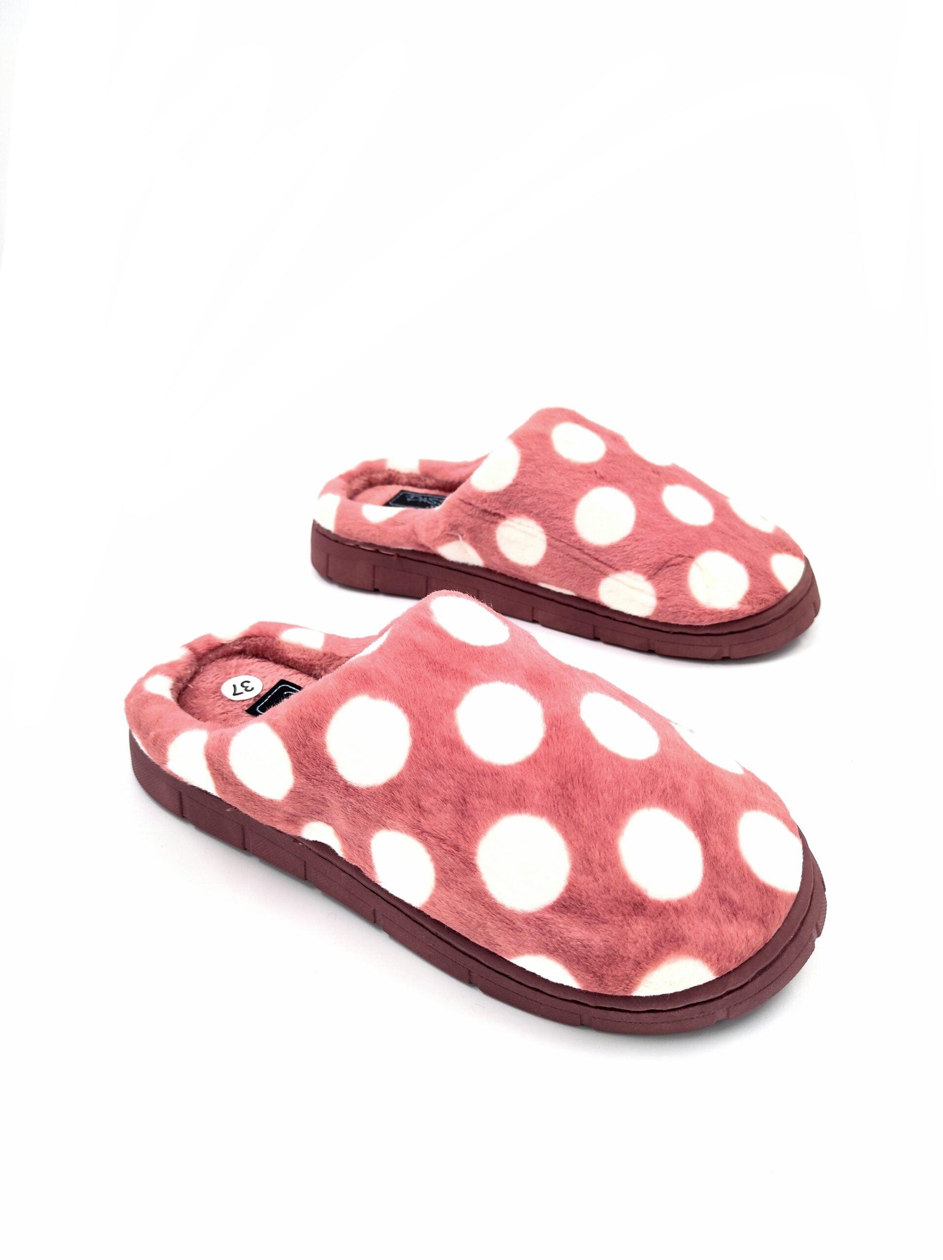 Παντόφλες Πουά Pink