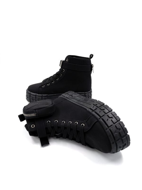 Sneakers Κάλτσα με Αερόσολα White