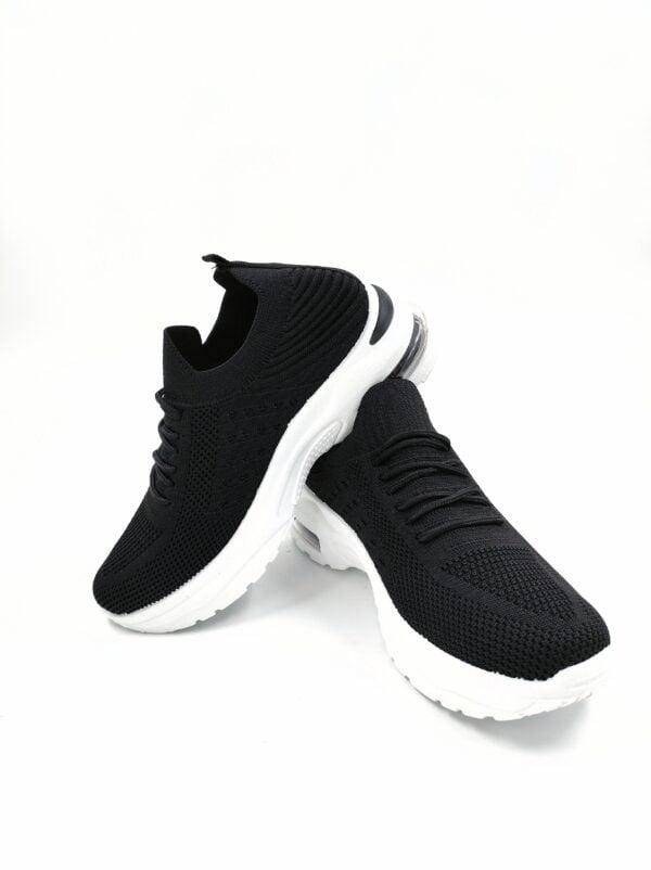 Sneakers Κάλτσα με Αερόσολα Black