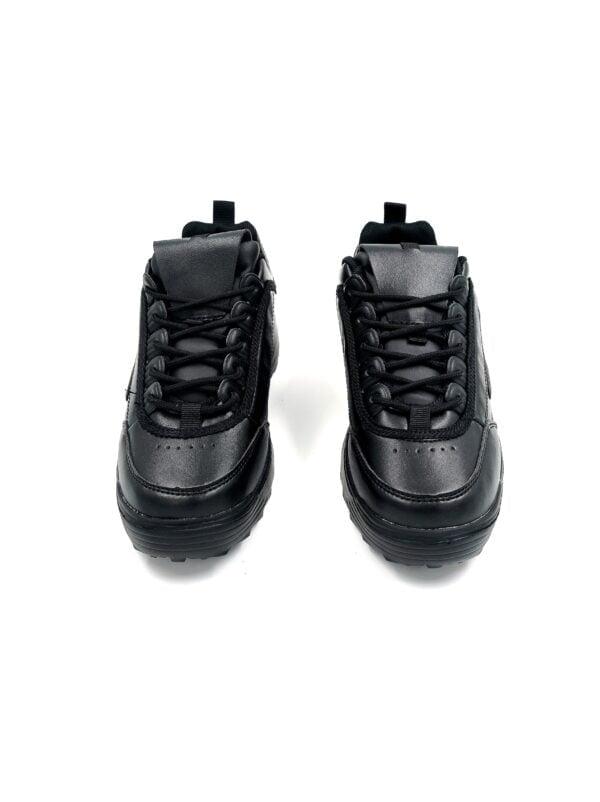Sneakers με Ανάγλυφο Σχέδιο White