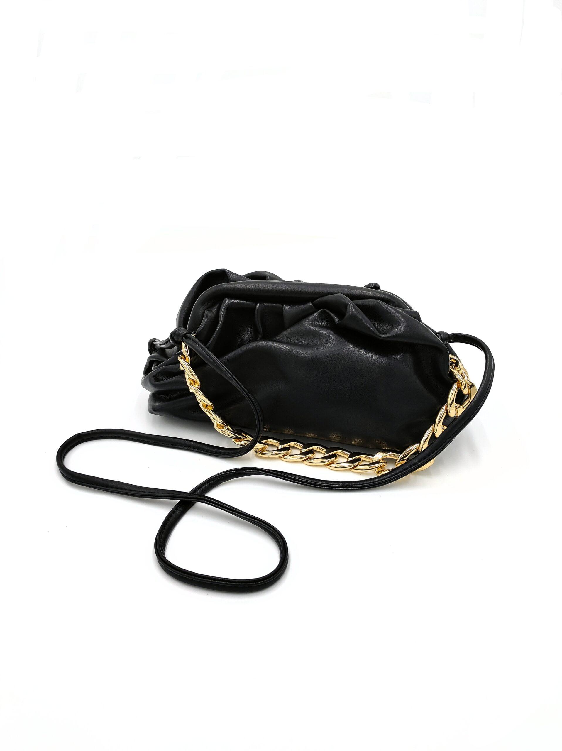 Τσάντα με Χρυσή Αλυσίδα