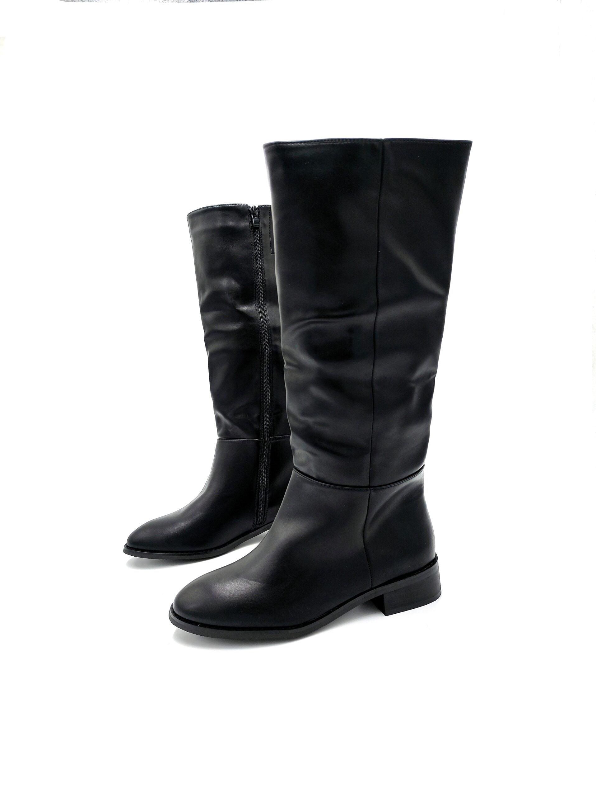 Flat Μπότες Black